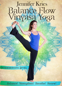 """Balance Flow Vinyasa"" Available Now!"